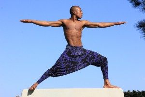 Our friend, Andrew Sealy, A Los Angeles Based Yoga Artist.